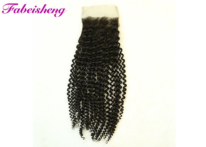 Curly Soft Smooth Brazilian Deep Wave Hair With Closure 4*4  Thick Bottom